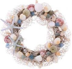 """Ocean Jewel 18"""" Wreath"""