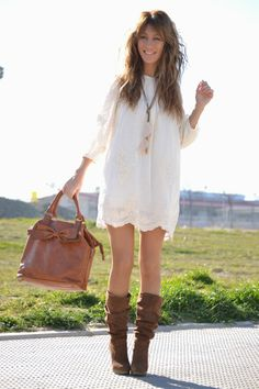 i have these boots now i need the dress!