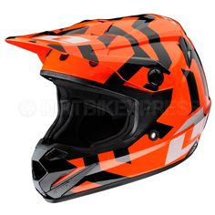 2013 One Industries Atom Kids Helmet - Labyrinth Orange  The Atom was built specifically for today's young athletes, with clean styling and fresh graphics as well as incorporating the latest technology and comfort-enhancing features..