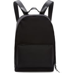 3.1 Phillip Lim Black Nylon 31 Hour Backpack