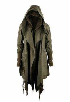 Deep Olive Cloak