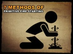 primitive Fire Starting