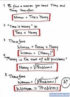 Wanita Bisa Dijelaskan dengan Rumus Matematika   Semua Yang Terbaik Untukku