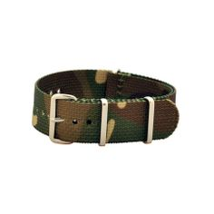 Military Watch Co. - Woodland Camo Interchangeable NATO Watch Strap :: Maxton Men