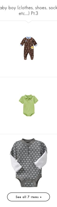 """Baby boy (clothes, shoes, socks, etc.....) Pt.3"" by vanilla-cupcakee ❤ liked on Polyvore featuring baby, baby boy, baby stuff, baby clothes, baby boy clothes, baby things and kids"