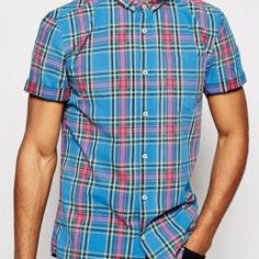 Buy Bulk Blue and Pink Men's Flannel Shirts From a Reputed Manufacturer in USA - Oasis Uniform Flannel Clothing, Flannel Outfits, Best Uniforms, Clothing Company, Best Mens Flannel Shirts, Usa, Men Casual, Engineer, A Good Man