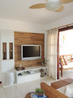 Living room tv wall decor ideas home Super Ideas Living Pequeños, Living Room Tv, Living Room Remodel, Apartment Living, Tv Wand Design, Tv Wanddekor, Tv Wall Decor, Cool Apartments, Wall Design