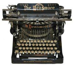 vendo maquina de escribir the densmore 5 — Ecatepec de Morelos   2000