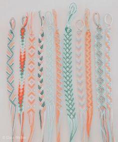 Yarn Bracelets, Diy Bracelets Easy, Summer Bracelets, Bracelet Crafts, Ankle Bracelets, Gold Bracelets, String Bracelets, Diamond Earrings, Homemade Bracelets