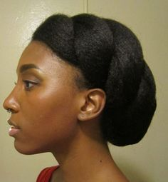 Cheveux crepus coiffure