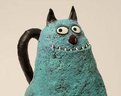 cat sculpture, FRANCESCO