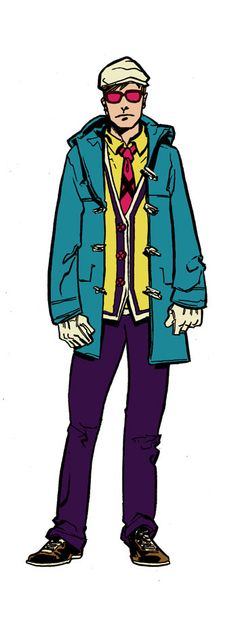 Hipster X-men.  Time to make some x-men related outfits!