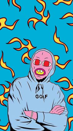 Golf Wang Flame Wallpaper Free Download Tylerthecreator Golfwang Ofwtkgta