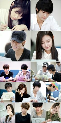 'To the Beautiful You' releases photos from the first script reading