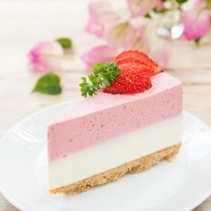 47 Ideas For Cheese Cake Sin Horno Mousse Sweet Desserts, No Bake Desserts, Sweet Recipes, Delicious Desserts, Dessert Recipes, Yummy Food, Food Cakes, Cupcake Cakes, Cheesecake Recipes