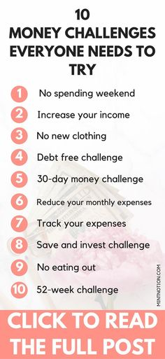 10 Money Challenge Ideas To Try In 2019 – Finance tips for small business
