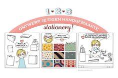 Infographic illustration for De kartonnerie by http://ankepanke.nl