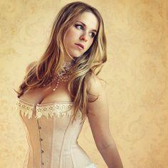 Cream color corset. gestiefeltekatze's Profile Picture