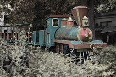 Creepy abandoned amusement park in Germany