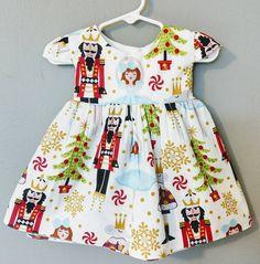 4f77d82a0e3f Nutcracker dress, Nutcracker toddler dress, girls Christmas dress, baby Christmas  dress, 1st