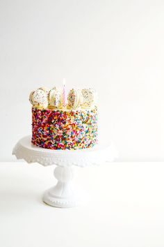 Funfetti cake batter cake.