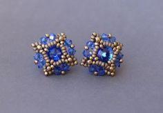 Blue Poppy Earrings Tutorial photo