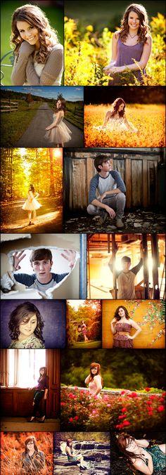 Senior shoot ideas