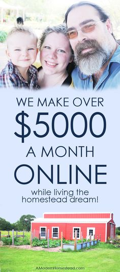 I retired my husband with my blog income in less than 4 months with my small blog. Now we make over $5000 a month in less than 10 hours a week!