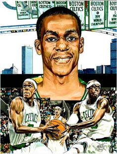 Rajon Rondo an marker drawing I did last year of Boston Celtic's point guard. Original art in size. Basketball Diaries, Basketball Art, Go Big Blue, Larry Bird, University Of Kentucky, Great Team, Sports Pictures, World Of Sports, Sports Art