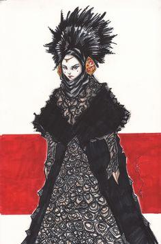 Queen Amidala by Tom Hodges