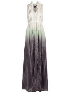 Theyskens' Theory  OMBRE STRIPED DRESS