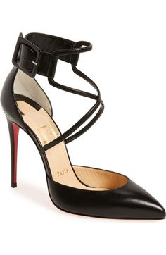 Christian Louboutin 'Suzanna' Pointy Toe Pump available at #Nordstrom