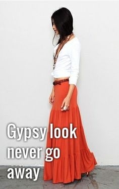 Wish I was taller for this look but I m all about the gypsy skirt 6ee80288f4