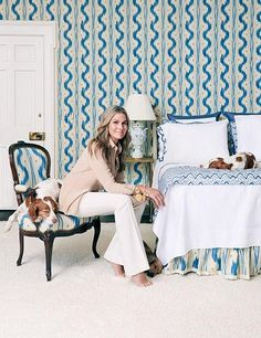 See Aerin Lauder's Bedding Collection