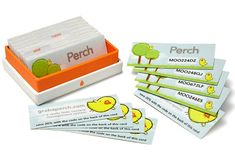 Marketing Ideas:   Perch use Printfinity to print unique Promo Codes onto each MiniCard