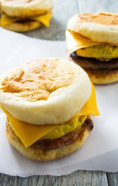 Make Ahead Freezer Breakfast Sandwiches - Pack Momma