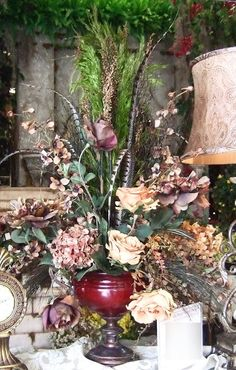 Ana Silk Flowers: Pictures!...Silk Flowers Arrangements Traditionals...