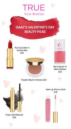 Pammy Blogs Beauty: Valentine's Day Beauty With TRUE Isaac Mizrahi