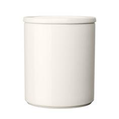 Purnukka s�ilytyspurkki 120 mm, valkoinen