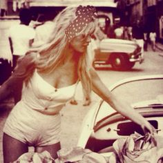 Brigitte Bardot with CULT GAIA and summer daze. jenfjnjsnnsdkf sooo obsessed with her.