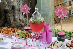Lily Pulitzer party...would be perfect for my niece, Lily Bear