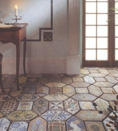 Tile Floor by Lissyleck