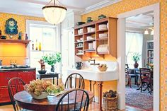 Jim Westphalen | thisoldhouse.com | from Create a Colorful Vintage Kitchen