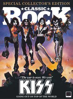 Newspaper Cover, Kiss Art, Heavy Metal Rock, Hot Band, Led Zeppelin, Rolling Stones, Cool Bands, Hard Rock, Rock N Roll