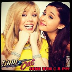 Watching Sam & Cat with Nathaniel, Layla, & Toria
