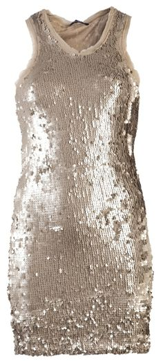 PLEIN SUD JEANIUS SEQUIN TANK DRESS