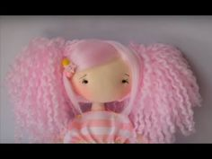 YouTube Felt Baby, Baby Animals, Hello Kitty, Crochet Hats, Dolls, Character, Videos, Youtube, Step By Step