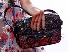 2206dee017 Marc Jacobs Debuts Beautifully Embellished Bags on His Spring 2016 Runway