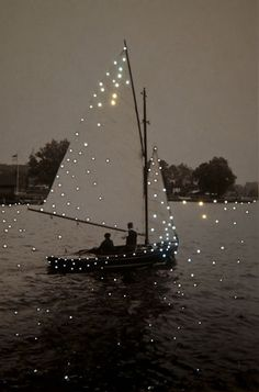 starry sail boat