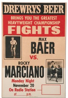 vintage boxing posters - Google Search